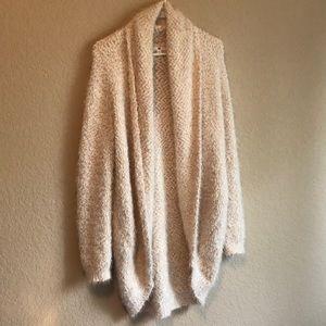Sweaters - Oversized glam cardigan